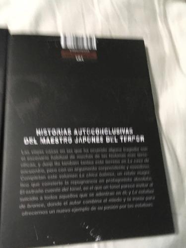 junji ito mangas relatos terroríficos ecc español