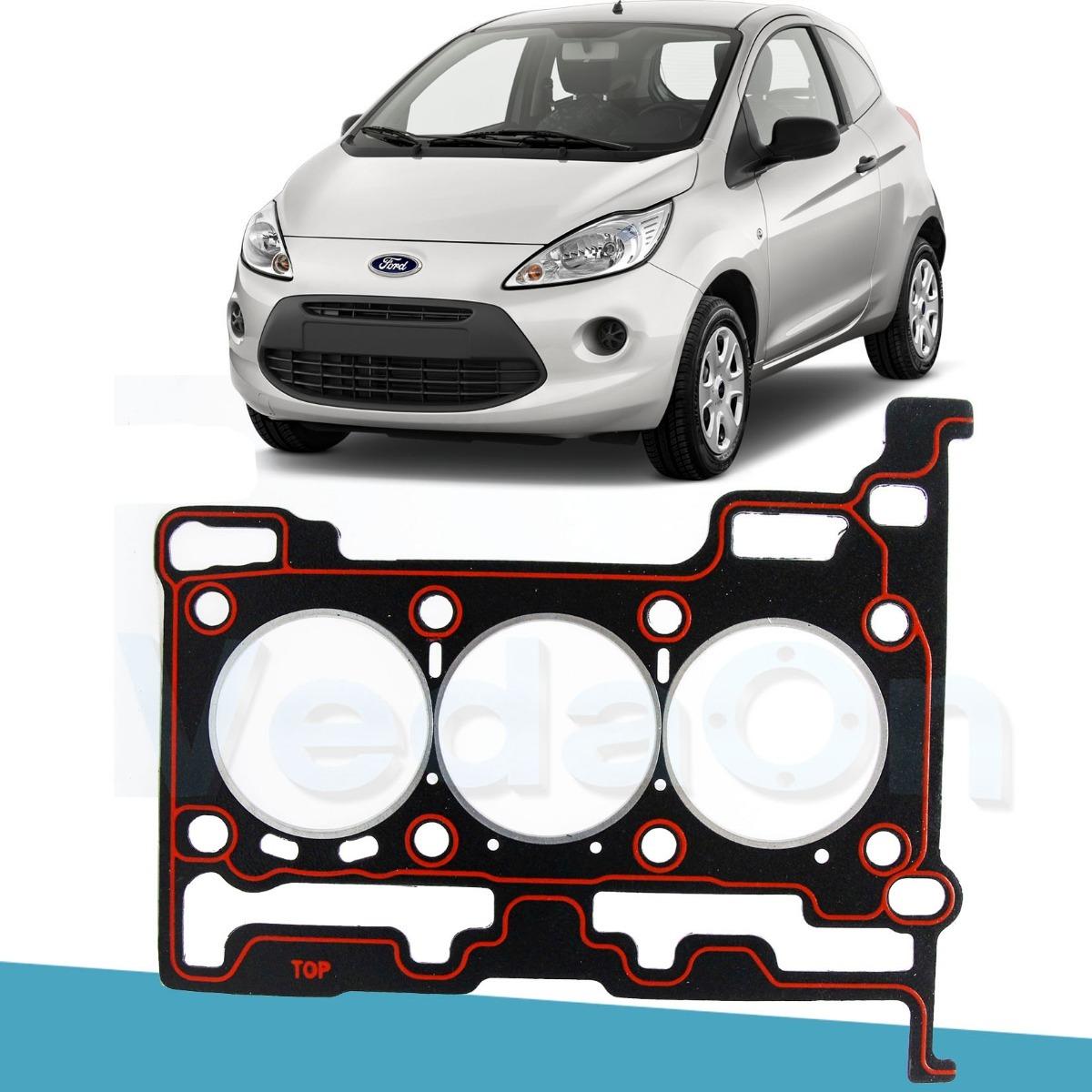 Junta Cabecote Amianto Ford Ka New Fiesta 1 0 12v 3 Cilindro R 70 00 Em Mercado Livre