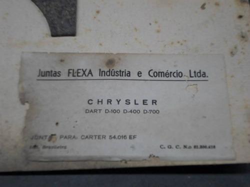 junta carter p/ chrysler