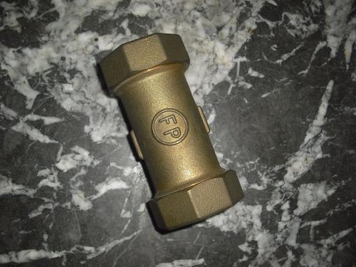 junta dresser union de 1 pulgada fp de bronce