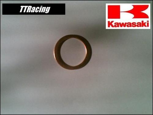 junta escapamento anel escape kawasaki kz700 1984 #1240