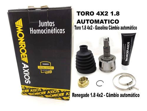 junta homocinética toro 1.8 4x2 jeep renegade 1.8 4x2 16/...