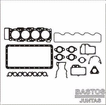 junta kit retifica motor agrale furgovan 6000 mwm 2.8 12v