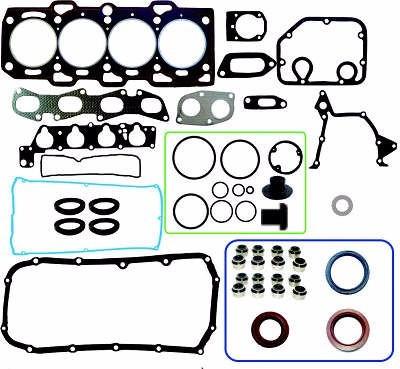 junta kit retifica motor c/ ret fiat coupe 1.8 16v 182a2