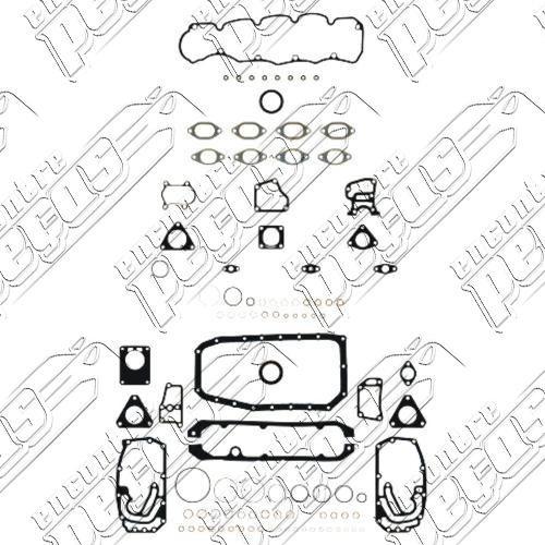 junta motor s/ cabeçote c/ flange fiat ducato jtd 2.8 94-01