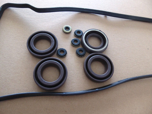 junta tampa valvulas corolla 1.6 1.8 16v 7a-fe c/aneis velas