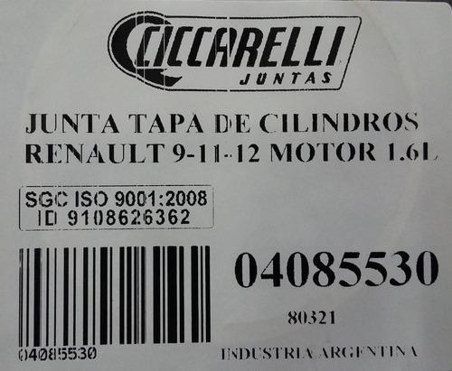 junta tapa de cilindros renault 1600 ciccarelli