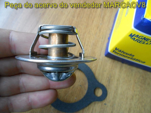 junta valvula termostatica opala 4 e 6 cil alcool m. marelli