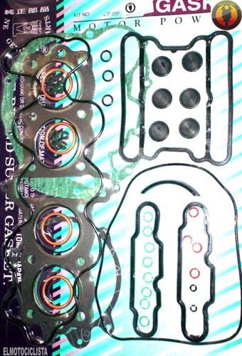 juntas motor completo cb 650 honda motos custom repuesto tw