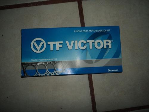 juntas o empaques para vocho, tf victor original.