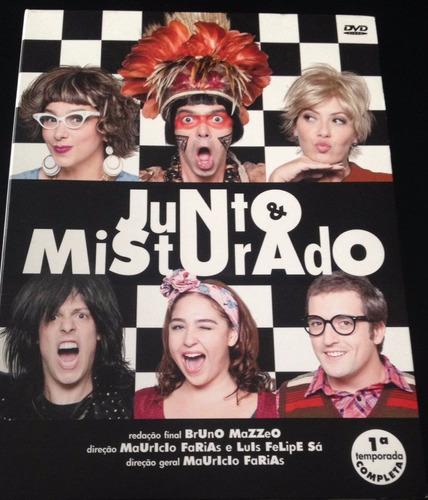 junto & misturado - 1ª temporada completa - 2 dvds