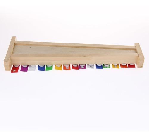 juquete de xilófono con mazos para niños juguete de madera