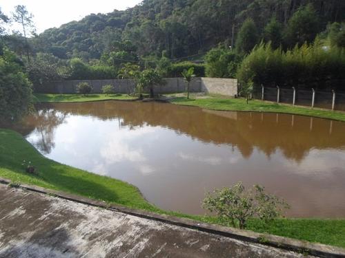 juquitiba-chácara represa/sede/ótimo morar ref: 03809