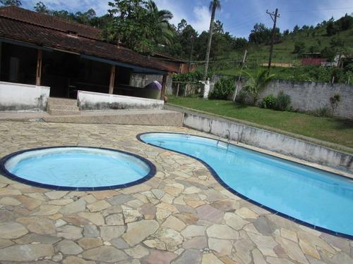 juquitiba - chácara/2000 mt/piscina/lago/churrasq ref: 04340