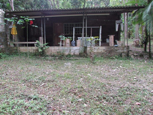 juquitiba - chácara/casa modesta/lago/nascente ref: 04244