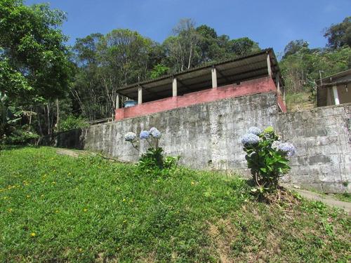 juquitiba - linda chácara c/ duas casas/piscina/ ref 04494