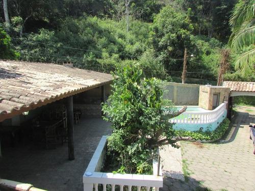 juquitiba - linda chácara/1050 mts/05 dorm/piscina ref 04491