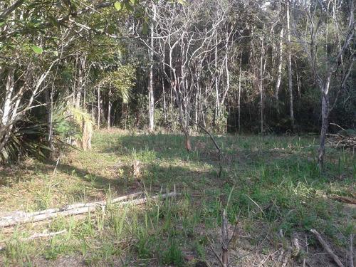juquitiba - lindo terreno/gramado/semi plano ref: 04119