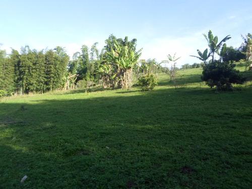 juquitiba - sítio/riacho/caseiro/horta/bosque ref: 04066