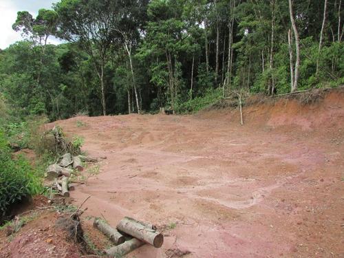 juquitiba - terreno/platô/1.500 mts/facilita ref: 04310