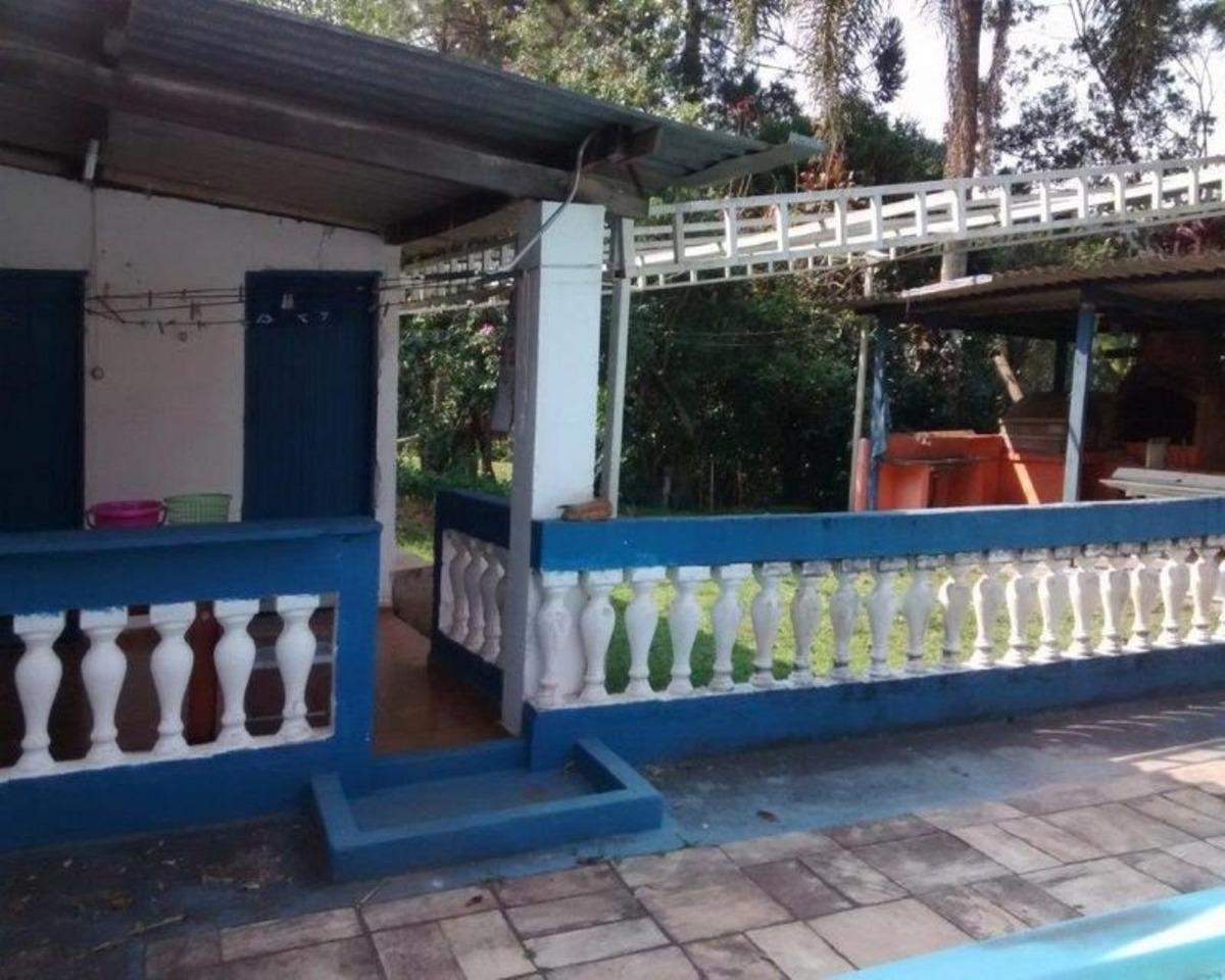 juquitiba/chácara c/piscina/ac/permuta menor valor/ref:04645