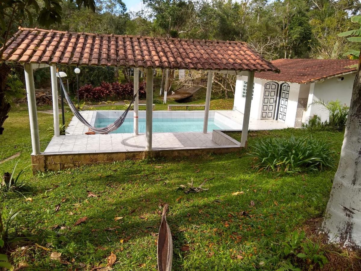 juquitiba/ibiuna c/piscina natural/casa /pomar/ref:04868