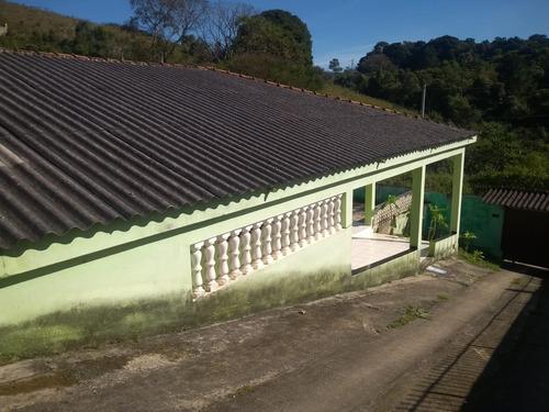 juquitiba/morar com 02 casas 01 km centro/ac auto/ref:04864