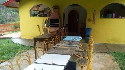 juquitiba/sitio /lago/piscina/bela casa/ac/troca/ref:04912