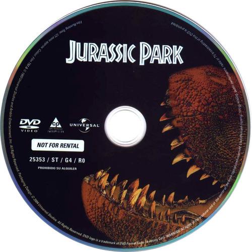 jurassic park - saga completa 4 dvd
