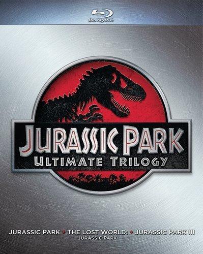 jurassic park trilogia - blu ray - importado