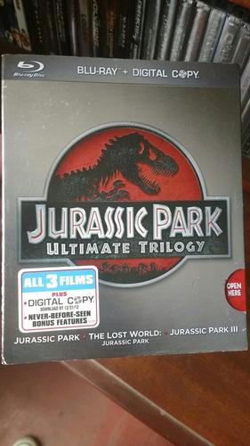 jurassic park trilogy blu ray (9.5/10)