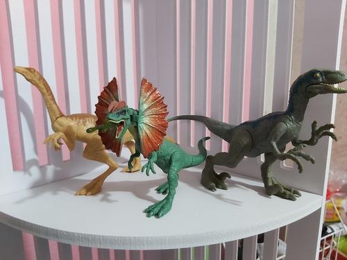jurassic park world dinosaurios 8 figuras sueltas