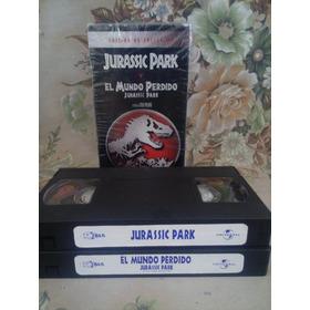 Jurassic Park Y Mundo Perdido - Vhs Edición De Colección