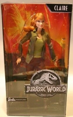 jurassic world claire barbie doll en stock ahora!