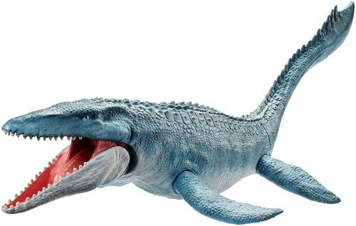 jurassic world dinosaurio mosasaurus mosasaurio 71cm mattel