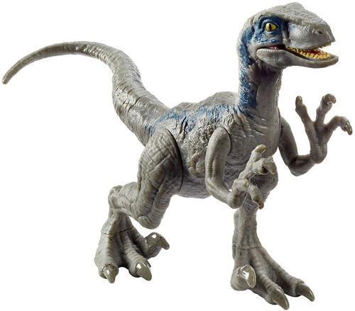 jurassic world dinosaurio velocirraptor blue de ataque fpf12