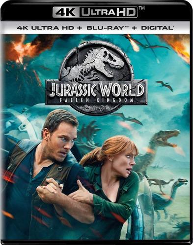 jurassic world el reino caído 4k + blu-ray + digital hd