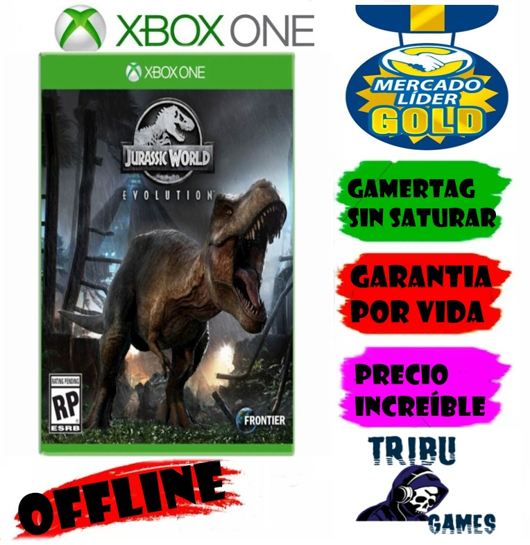 jurassic world evolution deluxe xbox one offline   8000