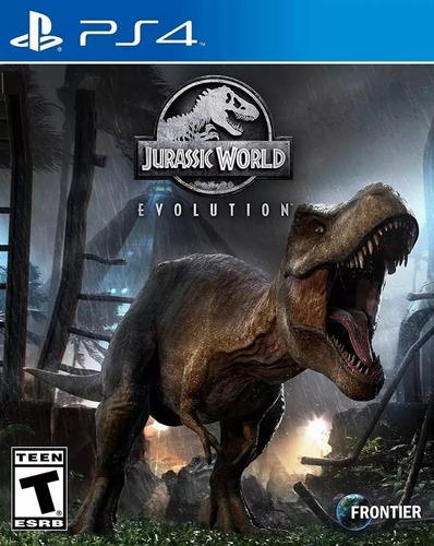 jurassic world evolution ps4 fisico sellado envío gratis
