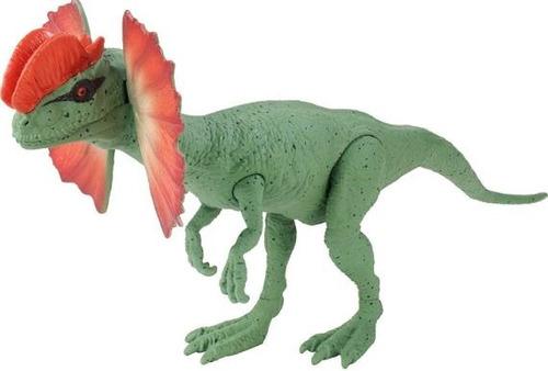 jurassic world figura  ref fmy87  dilophosaurus mattel