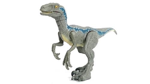 jurassic world fnb33 figura de acción velociraptor de daño