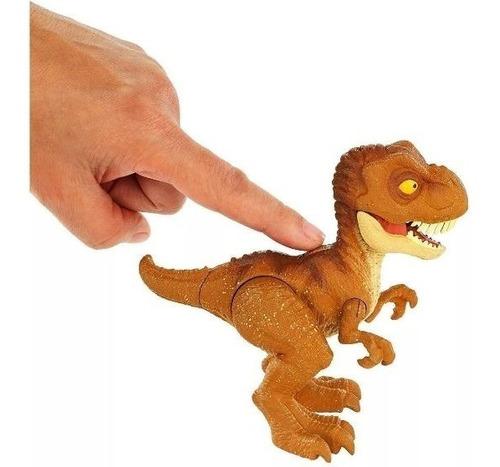 jurassic world huevo sorpresa bebe tyrannosaurus rex fmb93