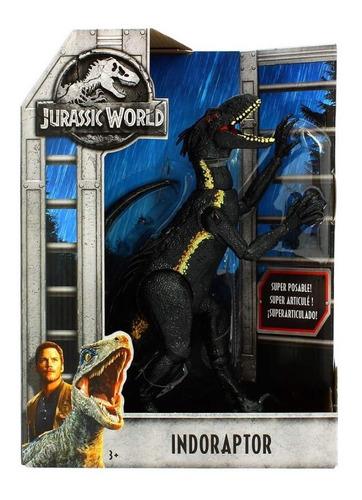 jurassic world indoraptor original mattel - minijuegos