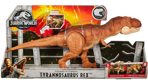 jurassic world mega mordida dinoraurio rex mattel fmy70