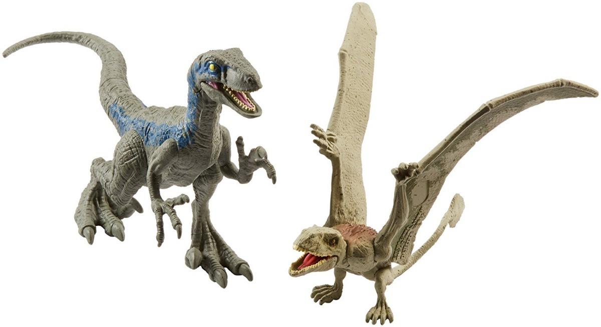 Jurassic World Velociraptor Blue Vs Dimorphodon - R$ 180 ...