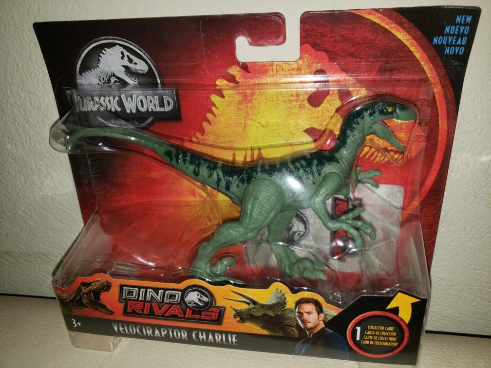 VELOCIRAPTOR Jurassic World DINO RIVALS NEW FAST SHIPPING CHARLIE