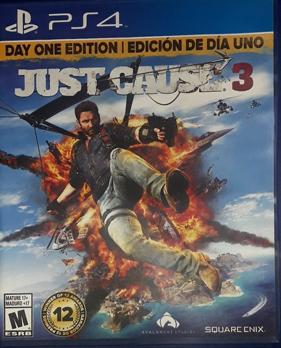 just cause 3   ps 4 fisico