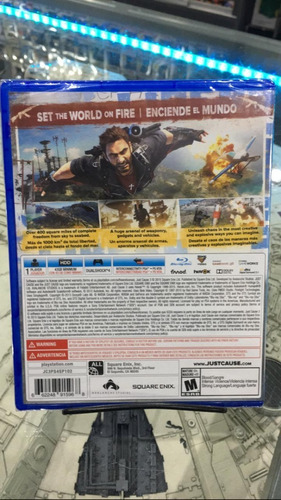 just cause 3 - ps4 - físico
