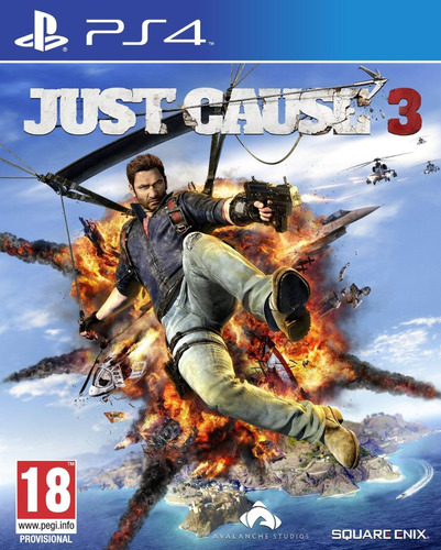 just cause 3 ps4 formato fisico juego playstation 4