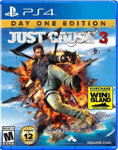 just cause 3 ps4 nuevo sellado original tienda gamers *_*